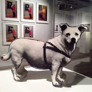 Peter Dressler had a dog called #burschi also a nickname for young guys 😊 The exhibition WIENER...
