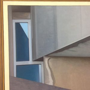 OPENING TONIGHT - Dominik Louda's new solo exhibition! #dominiklouda #schleifmühlgasse #opening #painting #contemporaryart #brutalism #wotruba #oiloncanvas #architecture...