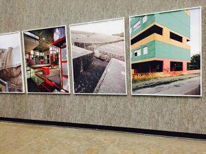 Novembertage in Wien: Wenn man in die Beton-Ausstellung gehen muss, um ein wenig Farbe in den Alltag...