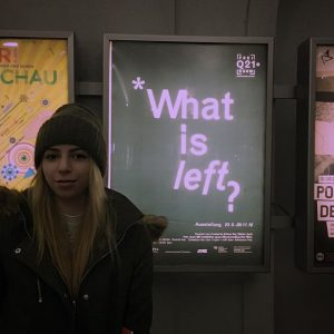 - *What is left?* - me MQ – MuseumsQuartier Wien