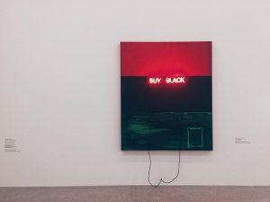I did, I do, I will ✔️ #mumok #wien #art #gallery #black MUMOK - Museum moderner Kunst...