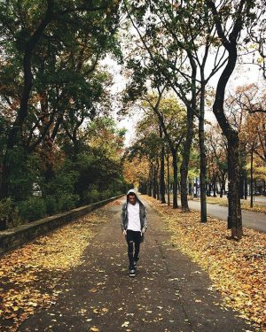 Exploring the city w//@inkstaboy 🍂 What are you doing today? Parkring Wien
