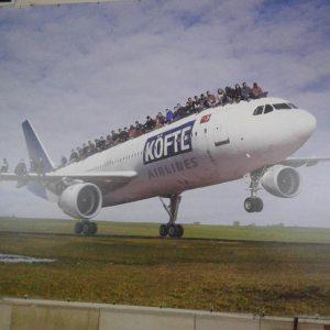 Köfte Airlines #museumsquartier #wien #mq #köfte MuseumsQuartier, Ringstrasse, Wien