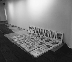 The photographs are ready to be hanged!🖼 A lot of work as there are sooo many artworks...