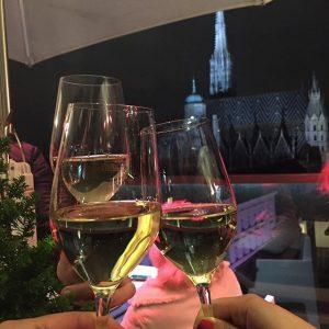 📌Está aberta a temporada de Punsch no Rooftop mais elegante de Viena! 🍷🍷🍷#RooftopPunschStand #VIENNATips #vienna_city #wien #vienna...