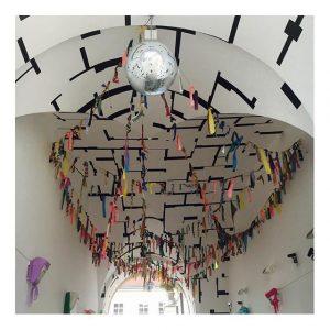 Disco Sunday 🍸👻💥 #MQ #punsch #season #daydrinkingisthebestdrinking #girlsweekend #alwaysapleasure #sundaymood #discodisco MQ – MuseumsQuartier Wien