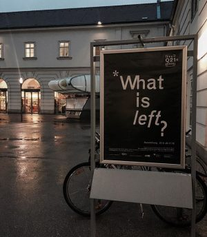 I am #left MQ – MuseumsQuartier Wien