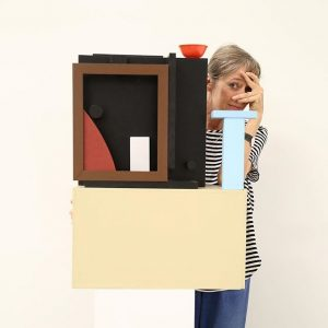 "#LookingBackAt16 What a pleasure it was having Nathalie Du Pasquier and her solo show ""BIG OBJECTS NOT..."