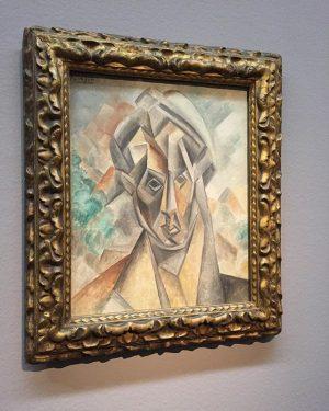 Picasso, African art #picasso #art #vienna #austria #leopoldmuseum #beautiful #african #europe #fremdegötter #travel