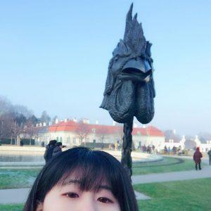 2017 정유년 꼬끼오🐔 #벨베데르궁전🏰 #belvedere #österreich #2017🐔 #닭대가리랑 #새해복많이받으세요🙇 #슴셋이라니😱 #그래도아직오이로파에선스물하나😭 Belvedere Schloss