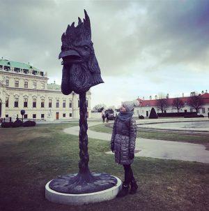 Мой год начался с путешествий 🙈😍🐓🐓🐓 Belvedere Palace
