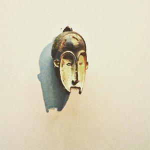 African Mask #leopoldmuseum #vienna #mask #museumsquartier