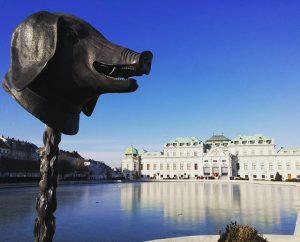 Bye #wien Belvedere Palace
