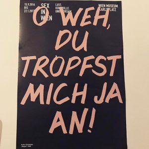 #schnitzler #reigen #plakat #wienmuseum #wienmuseumkarlsplatz #sexinwien #arthurschnitzler #soschönvieldeutig #ausstellung #exhibition