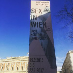 #sex #drugs and therapy! Interesting exhibits at the Wien Museum! #gay #travels #vienna Wien Museum