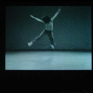 """In """"Trisha Brown WATER MOTOR"""" (1978) Babette Mangolte shot Brown's movements in complete, unbroken takes. Once in..."""