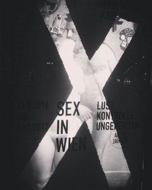#sexinwien #exhibition #wienmuseum #danachistdavor #manhatihnodernicht #sexsells #keintabu #alldifferentallequal #lust #kontrolle #ungehorsam