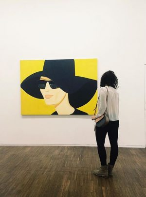 #alex #katz #museum #chill #polishgirl #relax #contemporary #art #american #painting #love #it #blackandwhite #instagood Albertina Museum