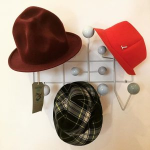 #hangitall and friends ... #hat #hatlover #vitra #muehlbauer #muehlbauerhats #viviennewestwood #worldsend #pharrellwilliams #pharrell #fashion #home #homedecor #decor...
