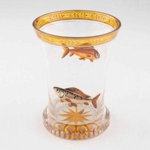 #goldfishlove & heute Abend #Eröffnung der #Ausstellung GLÄSER DER EMPIRE- UND BIEDERMEIERZEIT. Aus der Sammlung des #MAK...
