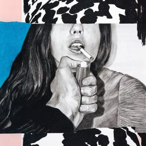 Preview for my upcoming solo exhibition NO CIGARETTES, NO SLEEP opening on January 26, 7 pm at...