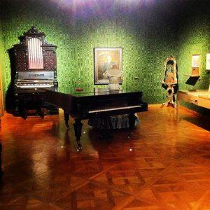 Сегодня посетила музей Штрауса. Это одна из комнат квартиры, в которой Штраус жил ...