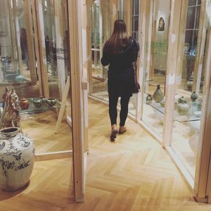 ちょっと#迷路 みたいになってる アジアの #工芸品 展示。#makwien #free on #tuesday #evening #thanks! MAK - Austrian Museum of Applied Arts...