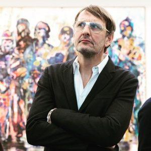 Spass trotz Ernst. Ein amüsanter Kerl, dieser #DanielRichter und seine #Malerei @21erHaus. 21er Haus