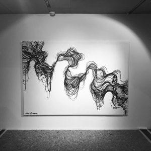 Portrait #mqwien #MQ #streetart #kunst #gallerie #giulianomartinuzzo #brazilianstreetart #art🎨 #streetartpassage MQ – MuseumsQuartier Wien
