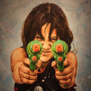 Kinder [ #fabiobaroli #goliath #mqwien #streetartpassage #janarnoldgallery #artinpublicplaces #freiraumq21 ] Q21