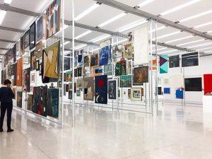 Museography on point. MUMOK - Museum moderner Kunst Wien