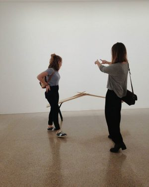 discussing some serious shit 'bout art #mumok MUMOK - Museum moderner Kunst Wien