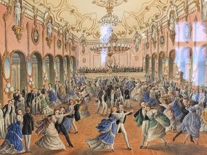 Ball Season in Vienna 🎻 Johann Strauss Sohn wohnte sozusagen mitten im Geschehen. ...