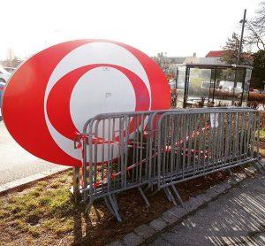 Gitter im Auge. #orf #orfzentrum #küniglberg #wien #vienna #media #tv #fernsehen #auge #eyeofthetiger #igersvienna #igersaustria #city #urbanlife...