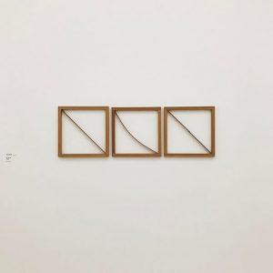我喜歡木框 其他看不懂 #museumquartier #vienna #mumok MUMOK - Museum moderner Kunst Wien