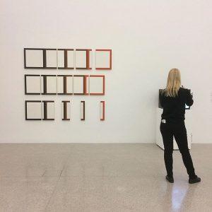 Dóra Maurer: 5 out of 4, 1978 @mumok_wien from The Gertraud and Dieter Bogner Collection #doramaurer #mumok...