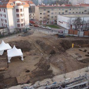 Wer erinnert sich daran?! 2014/15 wurden bei Ausgrabungen der Stadtarchäologie am Rochusmarkt sensationelle ...