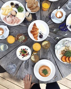 good morning Vienna! this is my way to say that I missed you, with a delicious brunch...