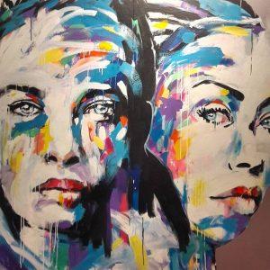 Jerson Jimenez•Streetartpassage•Frei raum Q21 exhibition space #wien🇦🇹 #art #austria #jersonjimenez #q21 #artexhibition #streetartpassagevienna ...