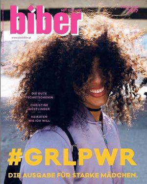Einer von 100 Gründen, warum @biber_mitscharf ziemlich cool ist: #GRLPWR wird bei uns groß geschrieben, übrigens nicht...