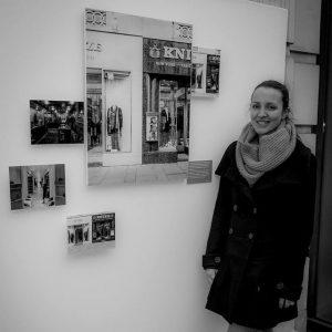 First exhibition! #proud #architecturephotography #knize #vienna #exhibition #mypictures #analogphotography #largesize #viewcamera #fachkamera #jungefotografie Az W Architekturzentrum Wien