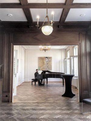 Open for business ... again #klimtvilla #vienna #gustavklimt #architecture #jugendstil Klimt Villa WIEN