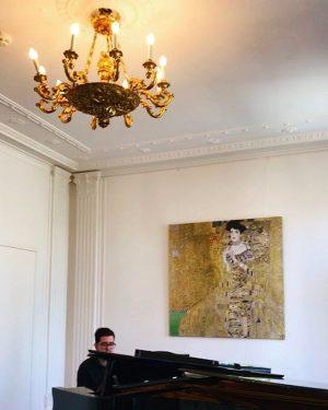 #klimtvillaopening #Klimt #diefrauingold #qualitytime #happyday @hanni_ma Klimt Villa WIEN
