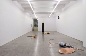 Installation shot of Eva Grubinger's solo show
