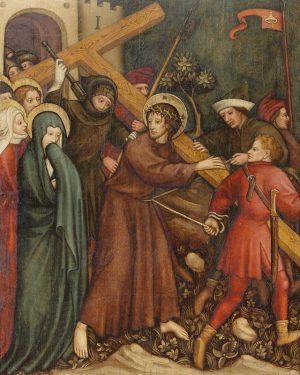 Kreuztragung, um 1430/40 • Dies ist die zweite Tafel, die ursprünglich zur Ausstattung des Pressburger Doms St....