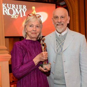 Akademie Romy Er brachte Hollywoodflair ins Wiener Grand Hotel. John #Malkovich überreichte gestern Abend die Akademie Platin...