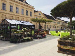 Gardening pop up store. Simply love Vienna. #mq #museumsquartier #starkl #popupstore #vienna #austria MQ – MuseumsQuartier Wien