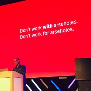 Word! #forward #vienna #dont #work #with #assholes #erikspiekermann #speaker #word MAK - Austrian Museum of Applied Arts...