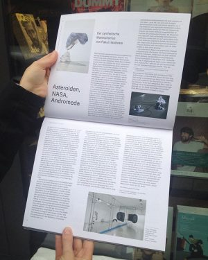 Our #VanillaEyes exhibition got an extensive review in #Springerin by #ChristianHöller ! #SpringerinMagazine ...