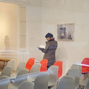 setting for book presentation #ulrikekönigshofer
